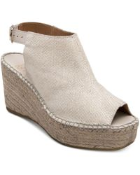 Andre Assous | Lina Platform Wedge Sandals | Lyst