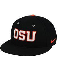 pretty nice 7bc1b 8c460 Nike - Oregon State Beavers Aerobill True Fitted Baseball Cap - Lyst