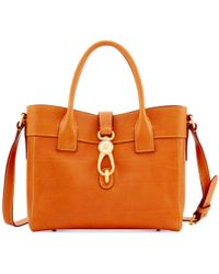 Dooney & Bourke - Florentine Amelie Leather Tote - Lyst