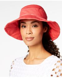 INC International Concepts - I.n.c. Solid Floppy Packable Hat, Created For Macy's - Lyst