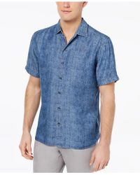 Tommy Bahama - Block Party Palm Shirt - Lyst