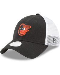 new arrival a3278 6705d Baltimore Orioles Black White 9fifty Snapback Cap.  32. Macy s · KTZ - Baltimore  Orioles Trucker Shine 9twenty Cap - Lyst