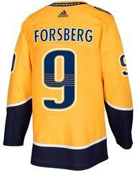 adidas - Filip Forsberg Nashville Predators Adizero Authentic Pro Player Jersey - Lyst