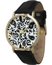Olivia Pratt - Paisley Leather Strap Watch - Lyst