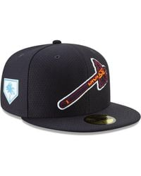 premium selection 0c4b7 6b897 KTZ - Atlanta Braves Spring Training 59fifty-fitted Cap - Lyst