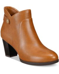 Giani Bernini | Abalina Memory Foam Booties, Created For Macy's | Lyst