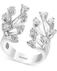 Effy Collection - Diamond Tree Branch Ring (1-1/3 Ct. T.w.) In 14k White Gold - Lyst