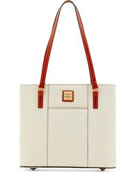 Dooney & Bourke - Lizard-embossed Small Lexington Shopper - Lyst