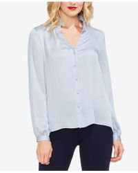 Vince Camuto - Ruffle-collar Blouse - Lyst