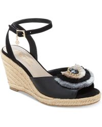 Nanette Lepore - Nanette By Queen Espadrille Wedge Sandals, Created For Macy's - Lyst