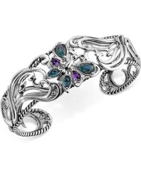Carolyn Pollack | Multi-gemstone Butterfly Bracelet (2-1/5 Ct. T.w.) In Sterling Silver | Lyst
