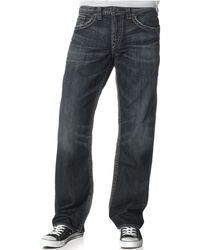Silver Jeans Co. | Men's Craig Easy-fit Bootcut Stretch Jeans | Lyst