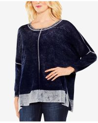 Vince Camuto - Cotton Printed Jumper - Lyst