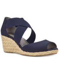 Bandolino - Hullen Espadrille Platform Wedge Sandals - Lyst