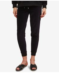 Jessica Simpson - Maternity Under-belly Velour Jogger Pants - Lyst