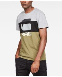 cc109bc042a G-Star RAW Tairi Camo-colorblocked T-shirt, Created For Macy's in ...