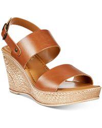 Bella Vita | Cor-italy Wedge Sandals | Lyst