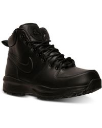 Nike - Men's Manoa Leather Boots From Finish Line - Lyst