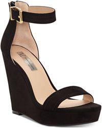 INC International Concepts - I.n.c. Vidita Platform Wedge Sandals, Created For Macy's - Lyst