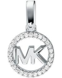 Michael Kors - Custom Kors Sterling Silver Logo Charm - Lyst