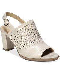 Naturalizer - Lennie 2 Slingback Sandals - Lyst