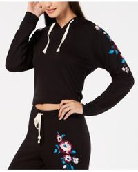 INC International Concepts - I.n.c. Embroidered Pajama Hoodie, Created For Macy's - Lyst