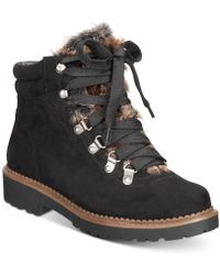Esprit - Cassia Lace-up Cold-weather Boots - Lyst