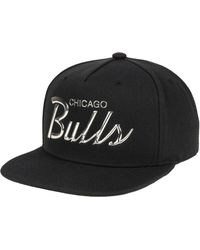 d3ca69ef Mitchell & Ness Chicago Bulls Zig Zag Snapback Cap in Red for Men - Lyst