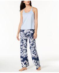 Linea Donatella - Juno Crisscross Pajama Set - Lyst