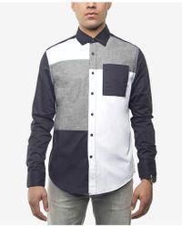 Sean John - Colorblocked Shirt, Created For Macy's - Lyst