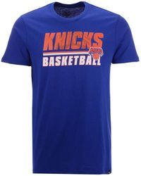 92d714379 47 Brand - New York Knicks Fade Back Super Rival T-shirt - Lyst