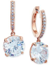 Kate Spade - Crystal And Pavé Drop Earrings - Lyst