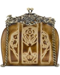 Patricia Nash - Burnished Tooled Rosaria Small Frame Clutch - Lyst