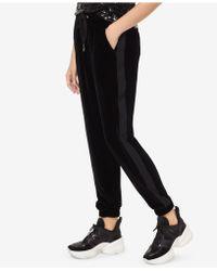 Michael Kors - Michael Velvet Tuxedo Track Pants - Lyst