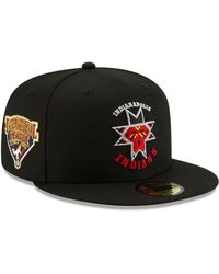 finest selection b257e a23ac KTZ - Indianapolis Indians League Patch 59fifty-fitted Cap - Lyst