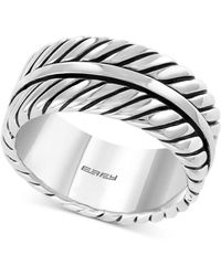 Effy Collection - Rope-look Ring In Sterling Silver - Lyst