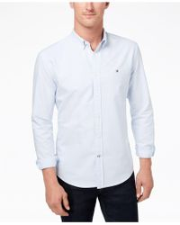 Tommy Hilfiger - New England Stripe Shirt, Created For Macy's - Lyst