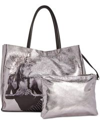 Betsey Johnson - In A Flash Large Shopper Tote With Pouch - Lyst