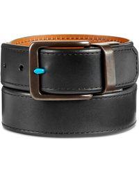 Original Penguin - Men's Reversible Leather Belt - Lyst