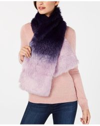 INC International Concepts - I.n.c. Ombré Faux-fur Stole, Created For Macy's - Lyst