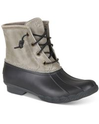 Sperry Top-Sider - Saltwater Duck Booties - Lyst