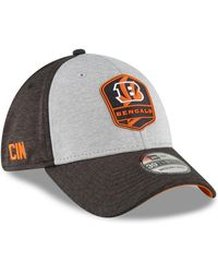 273a914c029 KTZ - Cincinnati Bengals On Field Sideline Road 39thirty Stretch Fitted Cap  - Lyst
