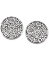 Effy Collection - Diamond Round Stud Earrings (1/3 Ct. T.w.) In 14k Gold, White Gold Or Rose Gold - Lyst