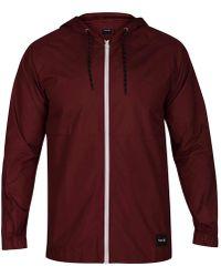 Hurley - Pistol River Full-zip Hooded Jacket - Lyst