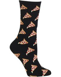Hot Sox - Pizza Print Socks - Lyst