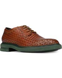 Donald J Pliner - Eloi Woven Leather Oxfords - Lyst