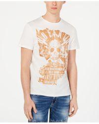 Buffalo David Bitton - Tyvakz Graphic T-shirt - Lyst