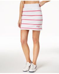 Fila - Lili Striped Mini Skirt - Lyst