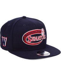 newest 73250 5c6e8 KTZ - Washington Senators Swoop 9fifty Snapback Cap - Lyst