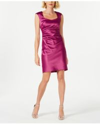 Donna Ricco - Boat-neck Shift Dress - Lyst